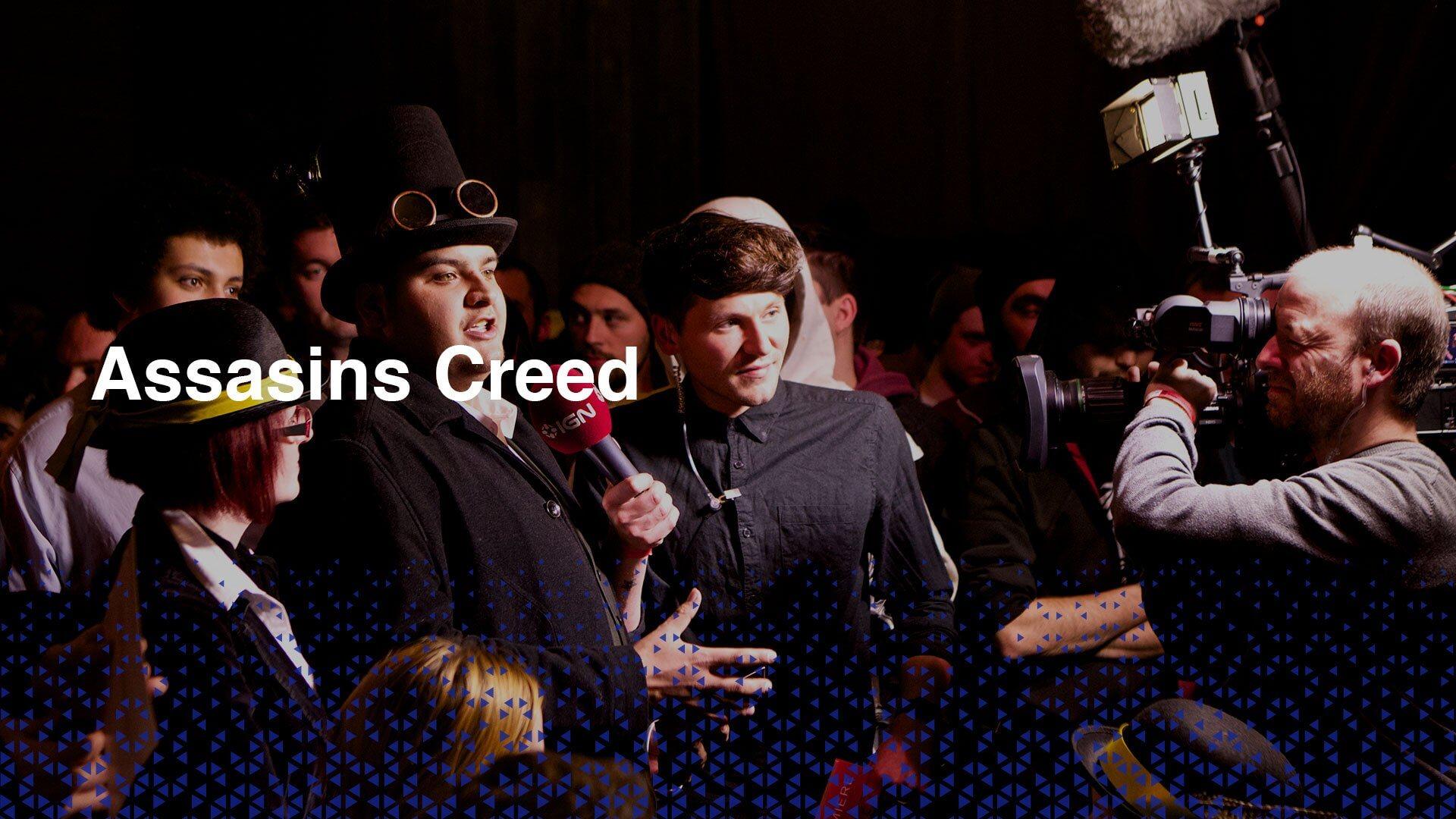 Assassins Creed Live Broadcast event