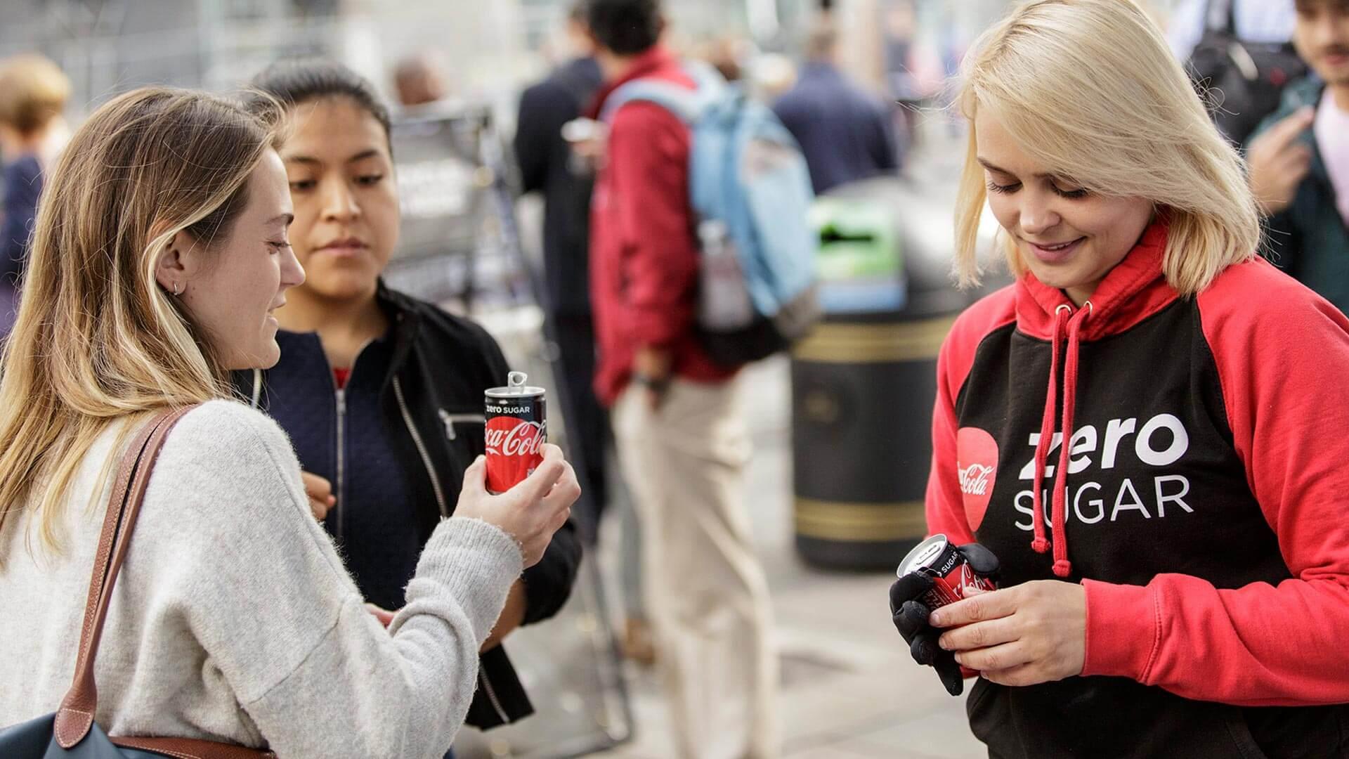 Coke Zero Sales agent